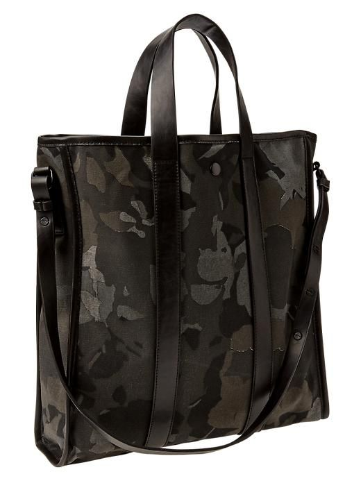 Love this floral camo khaki tote - $49 (great christmas gift)