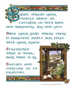 Prayer to St. Brigid of Ireland, patron saint of hearth and home
