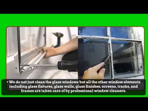 Window cleaning companies use more than just the regular soap and water; special cleaning solutions are used to ensure spotless results every time.Log on http://www.constructioncleanup.com/