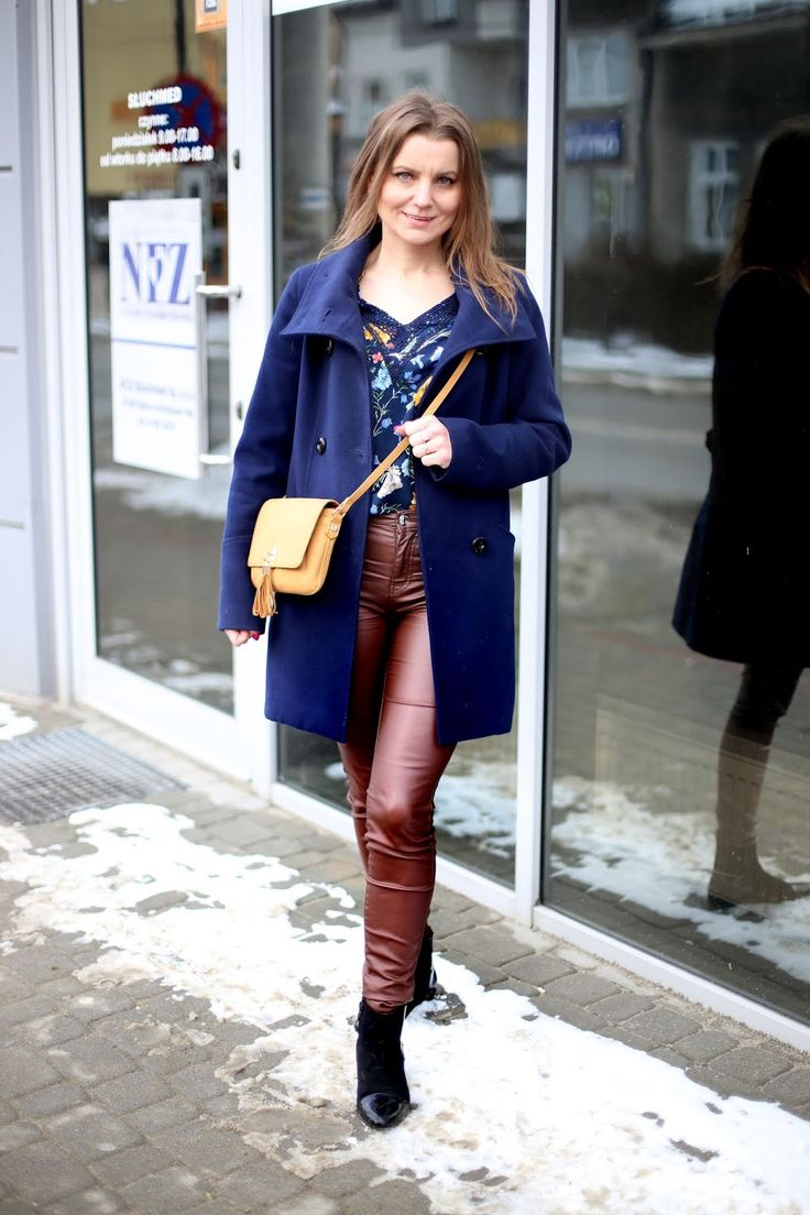Codzienny Look Annastylefashion By Anna Kruch Fashion Leather Pants Pants