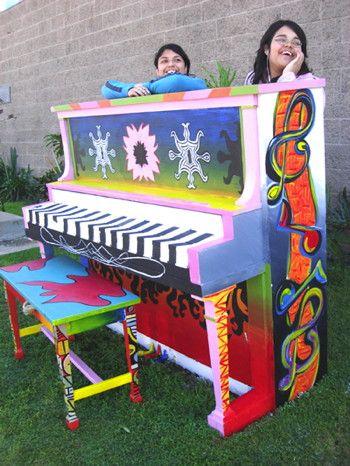 Art Music Installation presents: pianos everywhere!