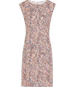 Ashe Pink Printed Dress - REISS