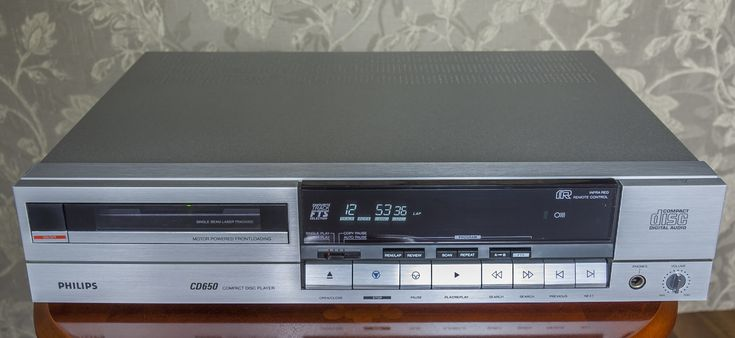 Philips CD650 vintage CD Player 1986
