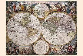 Výsledek obrázku pro námořní mapy 16-17 století