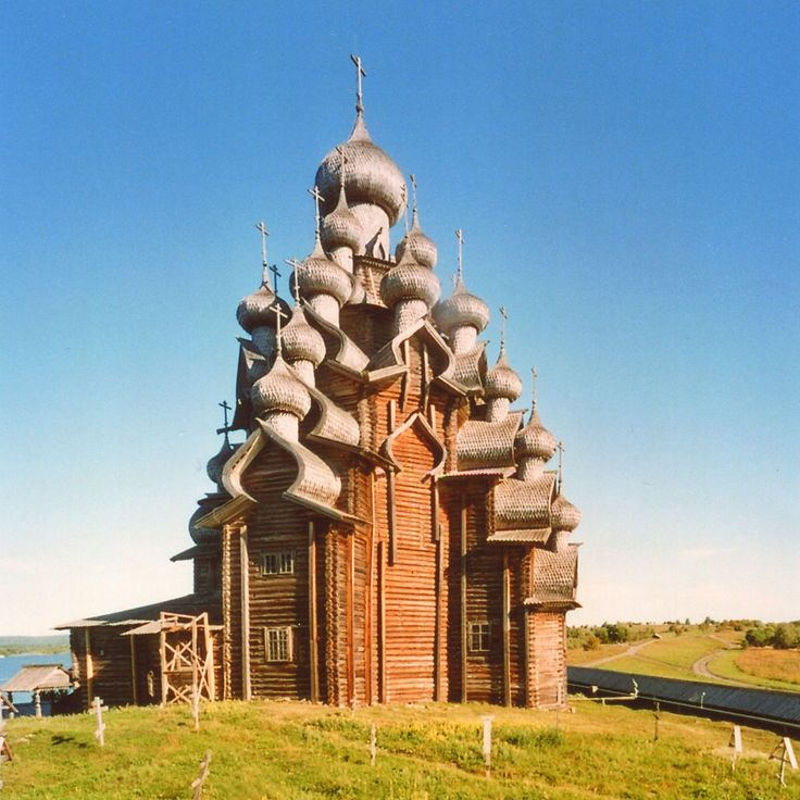 #Russia! The wooden church in Kizhi, found at http://www.flickr.com/photos/tango-/6854727088/