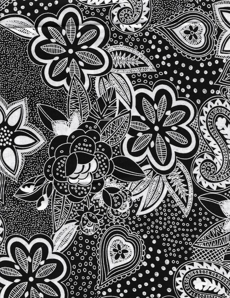 Black and white fabricblank quilting fabriclarge print cotton quilting fabricout
