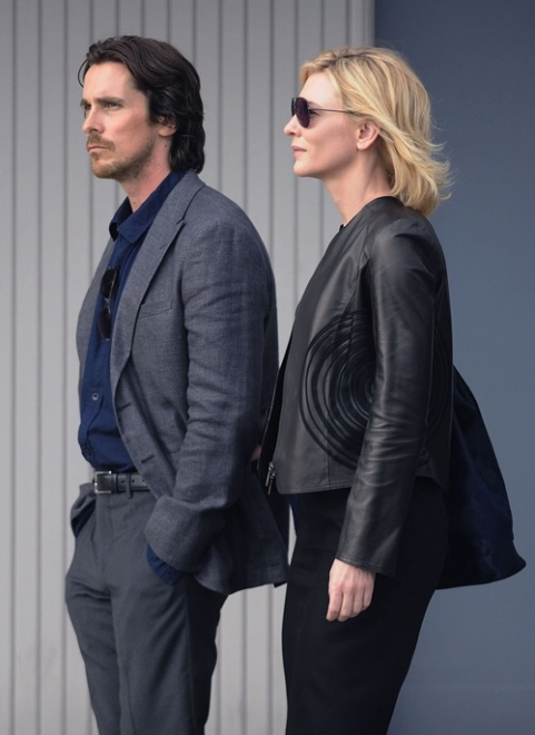 #ChristianBale & #CateBlanchett filming Terrence Malick's Knight of Cups in LA, June 13th 2012: Cate Blanchett, Cateblanchett Film, Cups, Malick Knights, Christianbal Cateblanchett, Bale Aka, Christianb Cateblanchett, Christian Bale ️, The World