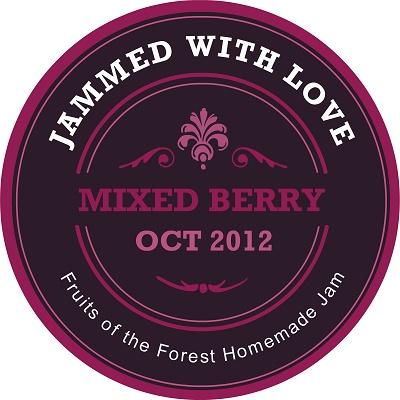 Free customizable jam labels - Fabulous!