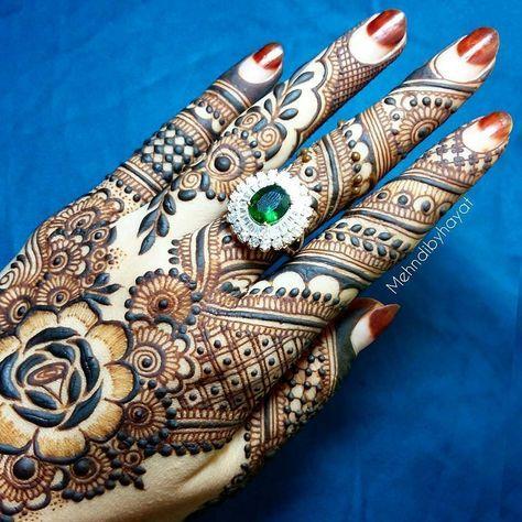 "8,383 Likes, 29 Comments - ✨ Daily Henna Inspiration ✨ (@hennainspo_) on Instagram: ""the best! ✨ // by @mehndibyhayat . . . #henna #mehndi #whitehenna #wakeupandmakeup #zentangle…"""