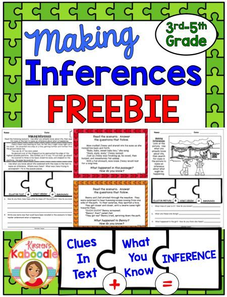 Are you teaching your students about making inferences?  This inferencing product is FREE and includes various printables to help students understand how to infer using a variety of strategies.  Teacher friendly and engaging for students, you're sure to love it!