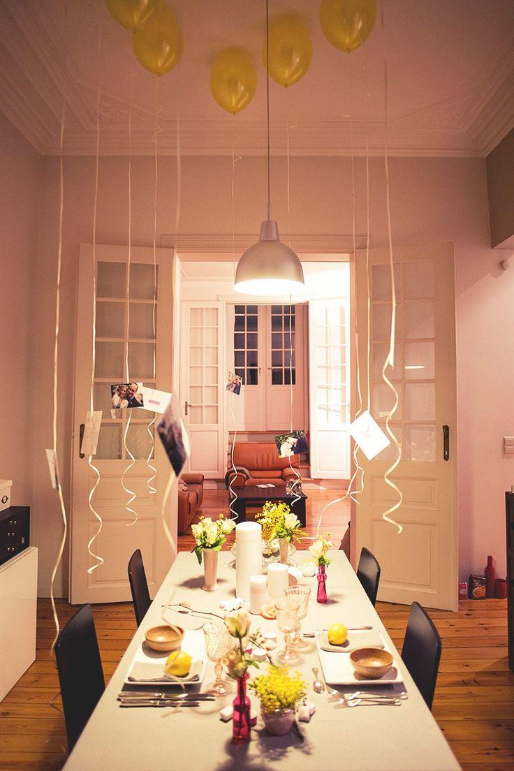 Les 25 meilleures id es de la cat gorie ballons jaunes sur for Idee de diner entre amis