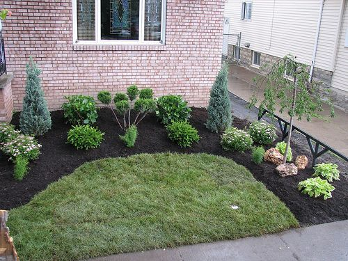 17 best ideas about small front yard landscaping on for Easy garden design ideas