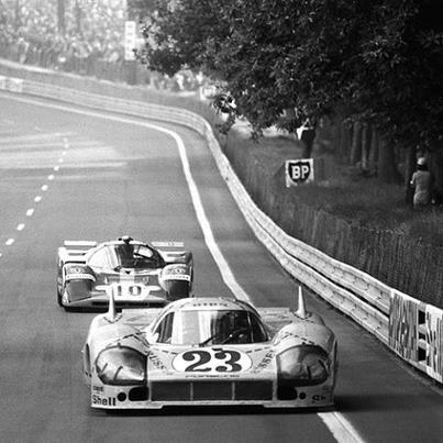 """1971- La Porsche 917/20  #23 surnommée """"Pink Pig"""" de Joest/Kauhsen."""