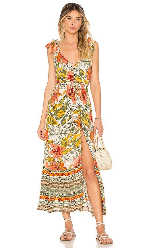 91806c04df6 Marla Maxi Dress in Tropical Indian