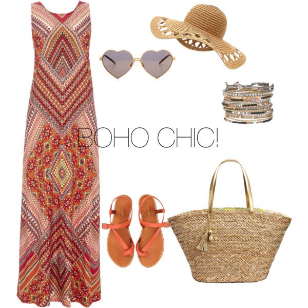 Boho Chic! by catarina-teixeira-de-queiros on Polyvore featuring polyvore fashion style Wallis Jigsaw Lilly Pulitzer maurices Wildfox