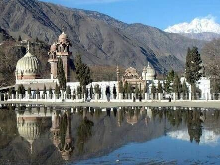 Shahi Mosque, Chitral, Pakistan.