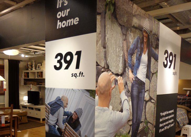 PHOTOS See Inside IKEA Brooklyns Tiny 391 Sq Ft Model Apartment