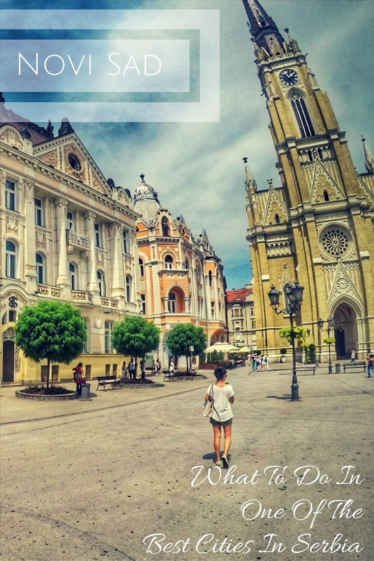 Serbia Travel Tips: What To do in Novi Sad. Top attractions you should see. This article includes tips on where to stay and where to eat, as well as suggestions on local food to try. A full guide of Novi Sad, Serbia. Click to see the detailed post: https://togethertowherever.com/what-to-do-novi-sad-best-of-serbia/