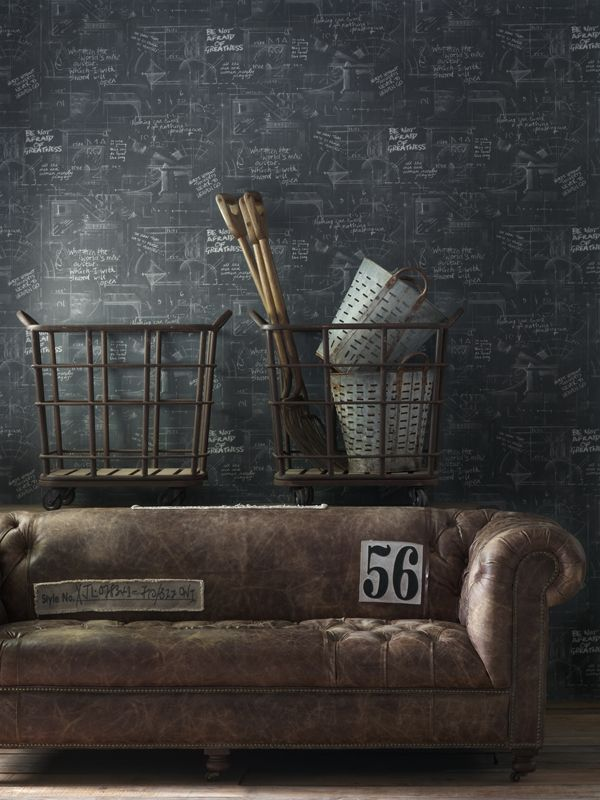 Andrew Martin Wallpaper - Engineer Collection - oxford