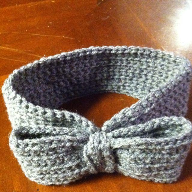 Cute crocheted headband