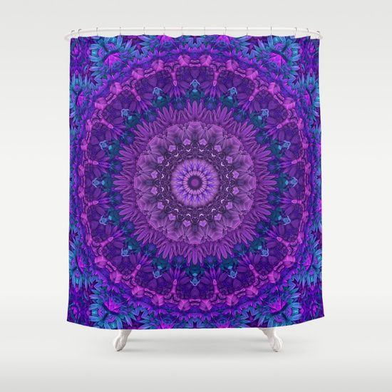 Harmony in Purple Shower Curtain