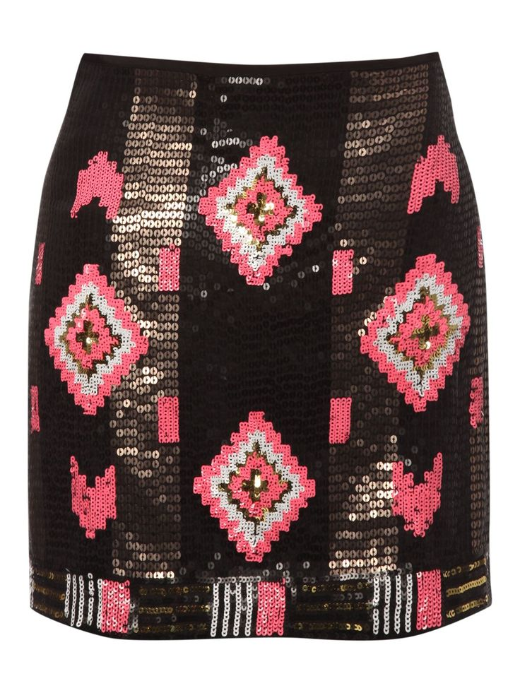 Jane Norman Inca sequin skirt - Skirts - Clothing - Women