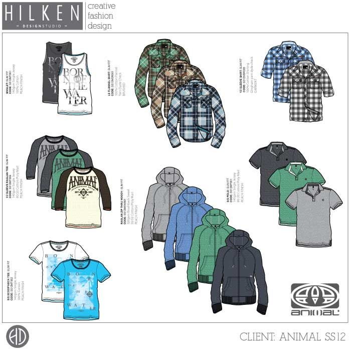 MENSWEAR DESIGN at Hilken Design