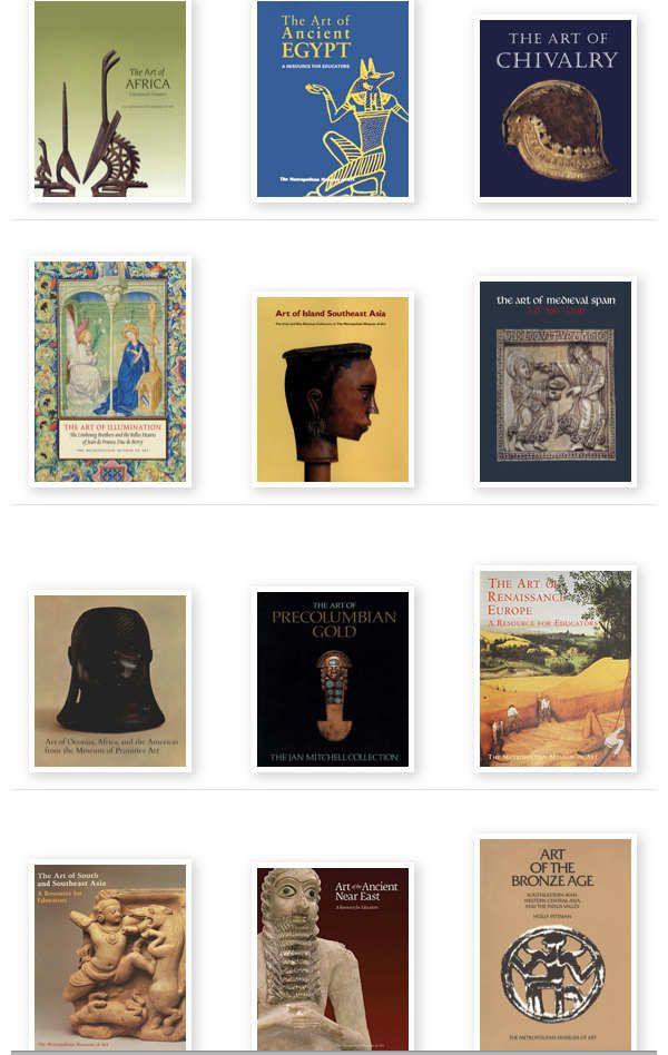 Libros de arte que ha puesto The Metropolitan Museum of Art, en línea para que todos puedan descargar o consultar desde su página web. El museo
