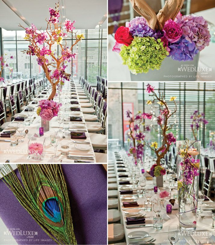 tablescape; decorating with branches