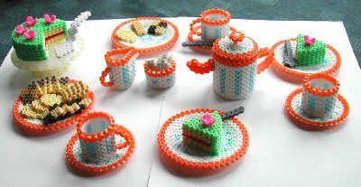perler bead furniture   ... Perler Bead designs - Fuse bead designs - Perler Bead - Perler bead