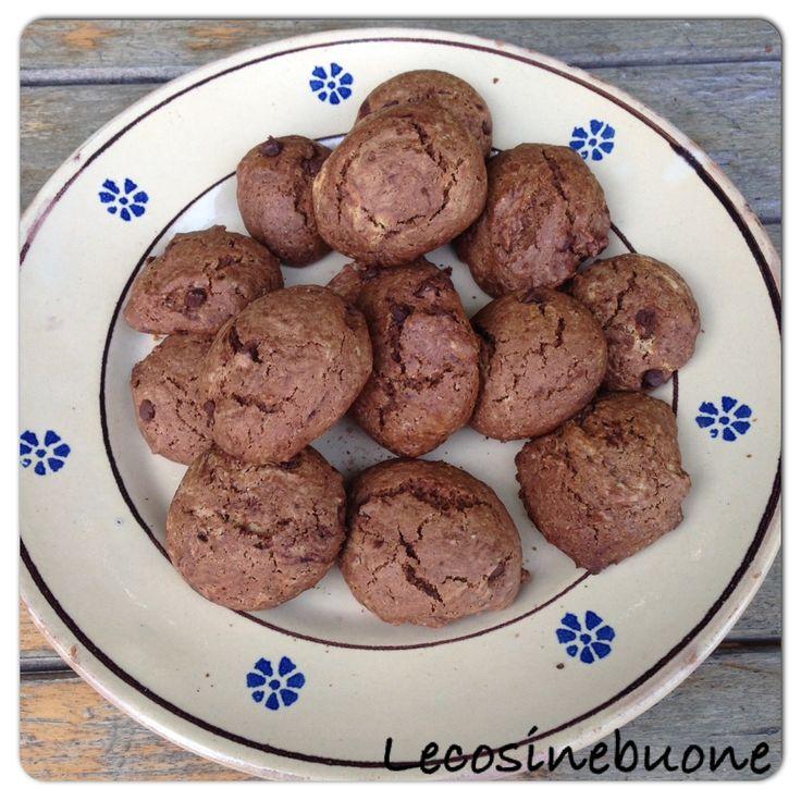 Biscotti al cacao.  Ricetta su Le cosine buone