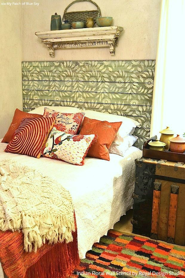 489 best Stenciled and Painted Furniture images on Pinterest | Annie ...