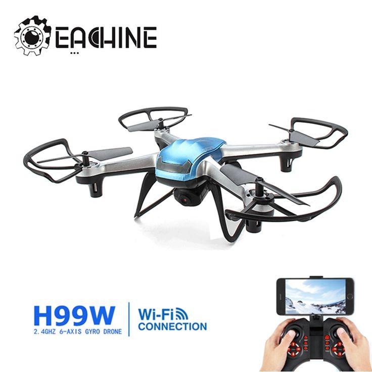 Eachine H99W WIFI FPV With 2.0MP 720p HD Camera 2.4G 6 Axis Headless Mode RC Quadcopter RTF