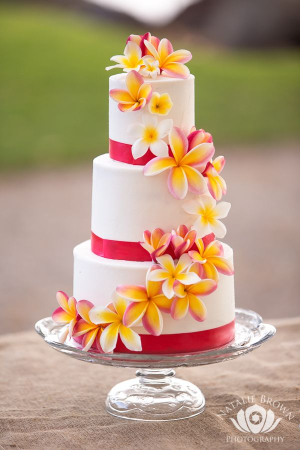 tropical wedding cake ideas 1000 ideas about hawaiian wedding cakes on 21276