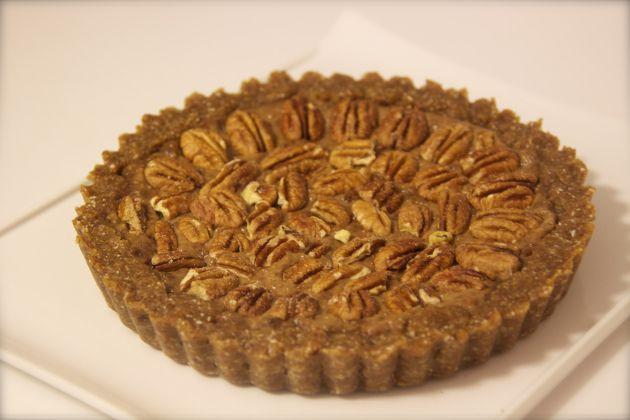 Raw Pecan Pie || Healthy Living, Healthy Us