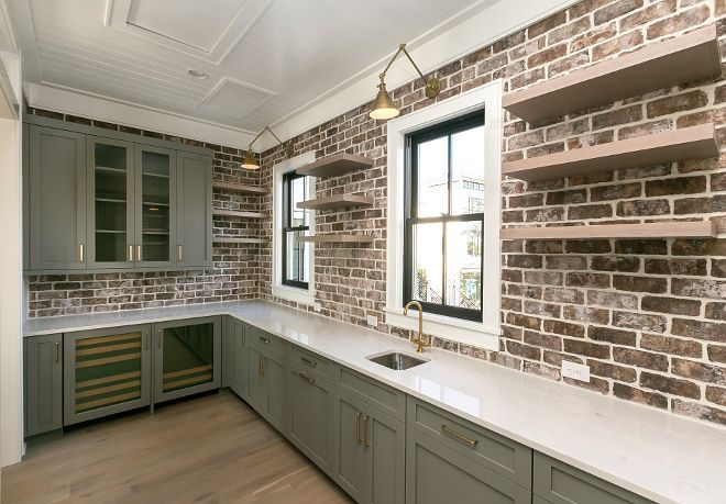 Best Kitchen Pantry Brick Backsplash Brick Wall Tile Old 640 x 480
