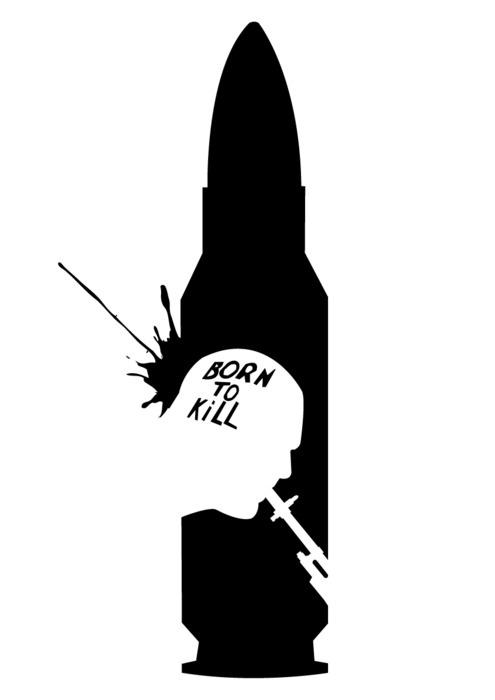 Full Metal Jacket - Stanley Kubrick minimalism