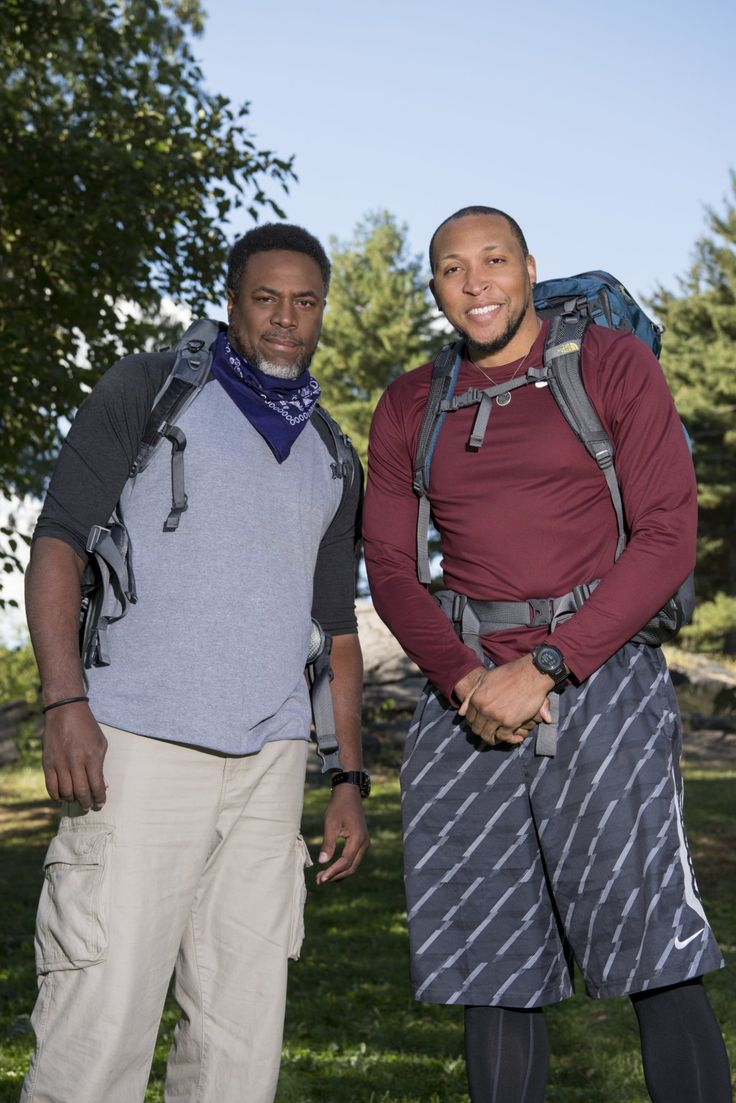 """Cedric Ceballos and Shawn Marion -   The Amazing Race """"Retired NBA Players"""" Cedric Ceballos and Shawn Marion"""