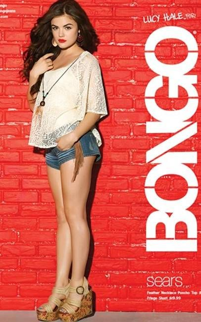 Lucy during Bongo advertisement in 2012.