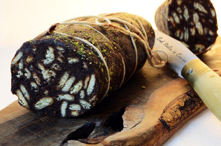 Salame al Cioccolato - http://blog.giallozafferano.it/suditaliaincucina/salame-al-cioccolato/