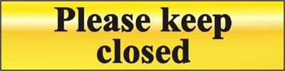 Centurion Polished Gold Style Please Keep Closed Sign At Door furniture direct we sell high quality products at great value including Polished Gold Effect Please Keep Closed Sign in our Signs range. We also offer free delivery when you spend over GBP50. http://www.MightGet.com/january-2017-12/centurion-polished-gold-style-please-keep-closed-sign.asp