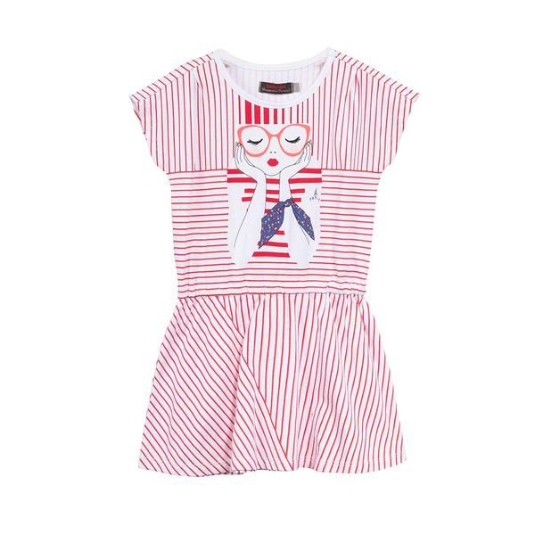 NEW! - CATIMINI - City Sailor Striped Dress