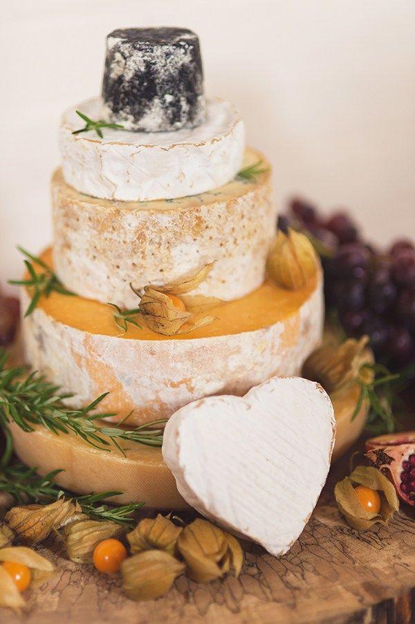 Country Folksy Pre-Raphaelite Wedding Cheese Tower Cake http://www.georgimabee.com/