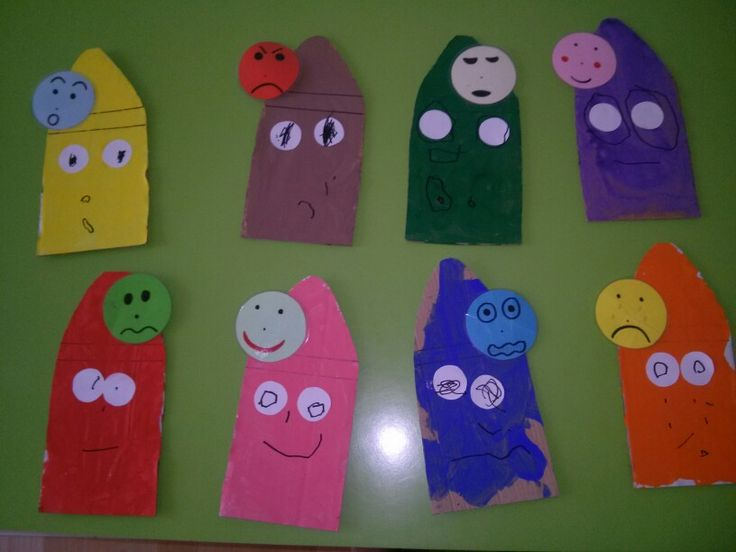 The crayons with feelings!