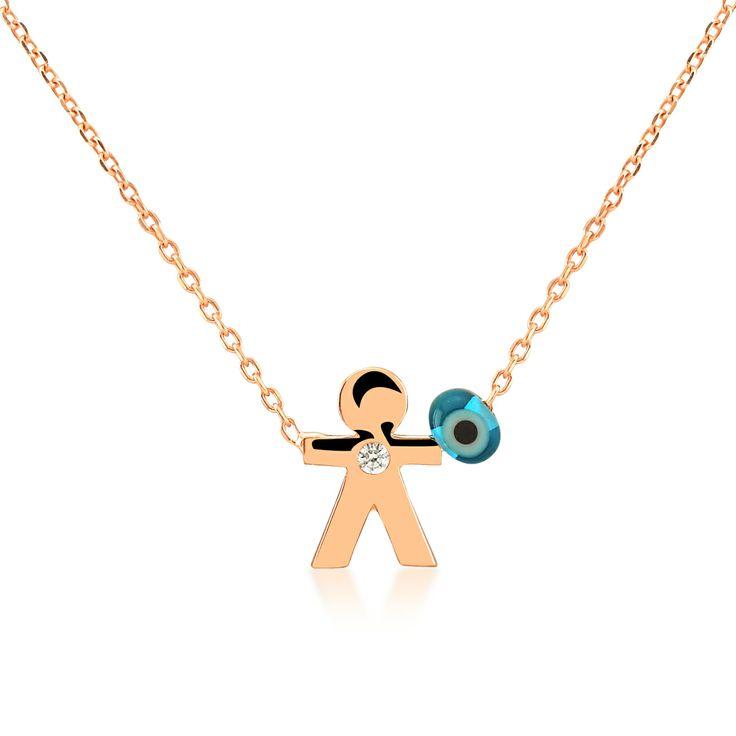 Mini Boy necklace