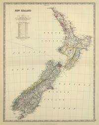 1879 New Zealand Historical Map : The Chart & Map Shop | The Chart & Map Shop