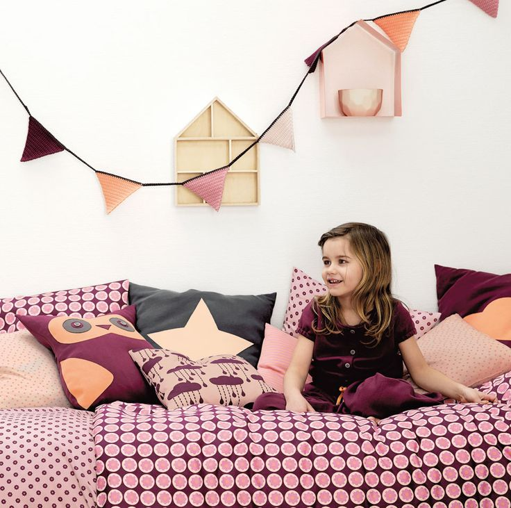 Garn organic cotton lys rosa - Stof & Stil