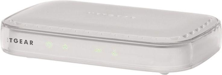 NETGEAR - ADSL2+ Broadband DSL Modem - White, DM111PSP-100NAS