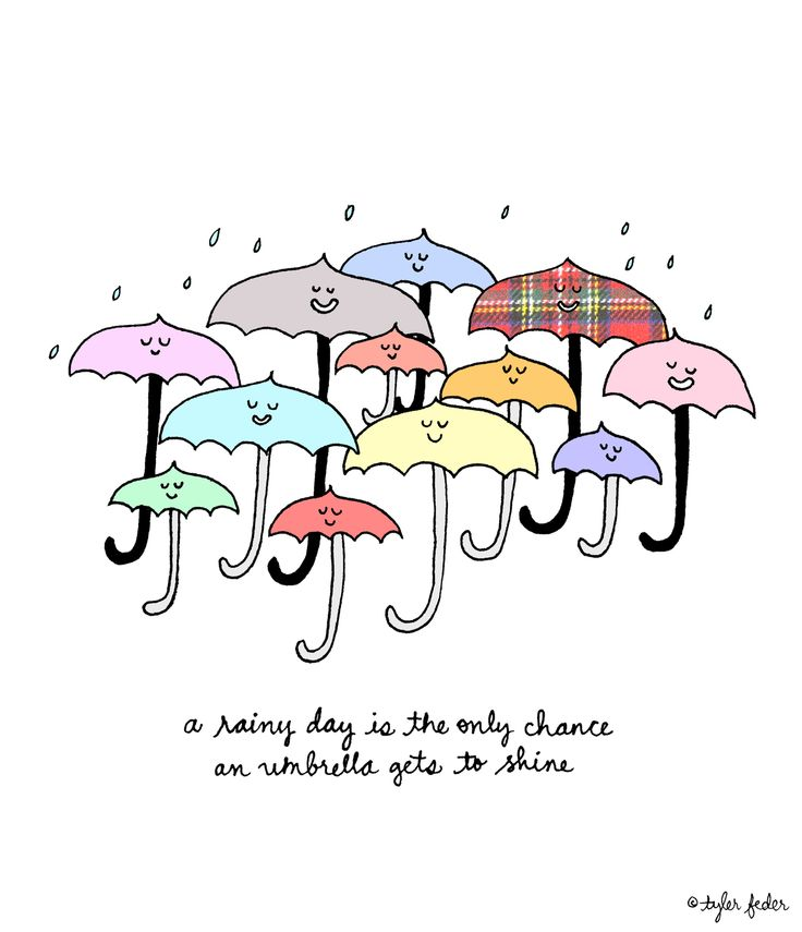 Funny Quotes About Rainy Days: A Rainy Day Is The Only Chance An Umbrella Gets To Shine