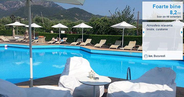 Hotel Korina, Skala Potamias - Ghid Turistic Grecia